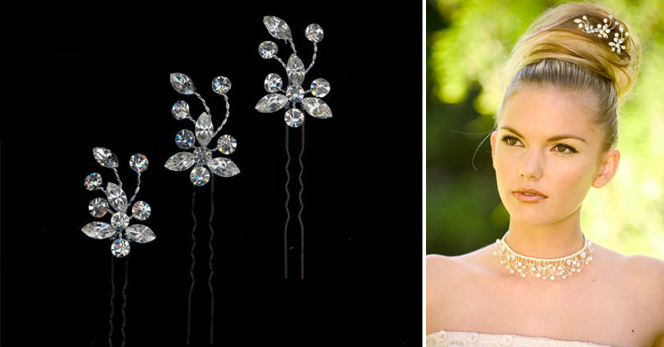 Bridal Hair Accessories San Diego : Beadazzled by mindy custom bridal party jewelry and hair